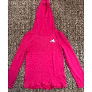 NWOT Girls adidas hoodie